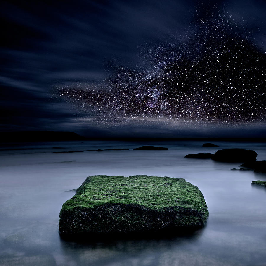 Night Photograph - Into The Shadows by Jorge Maia