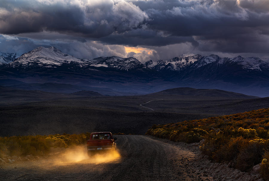 Into the Sierras by Steven Maxx