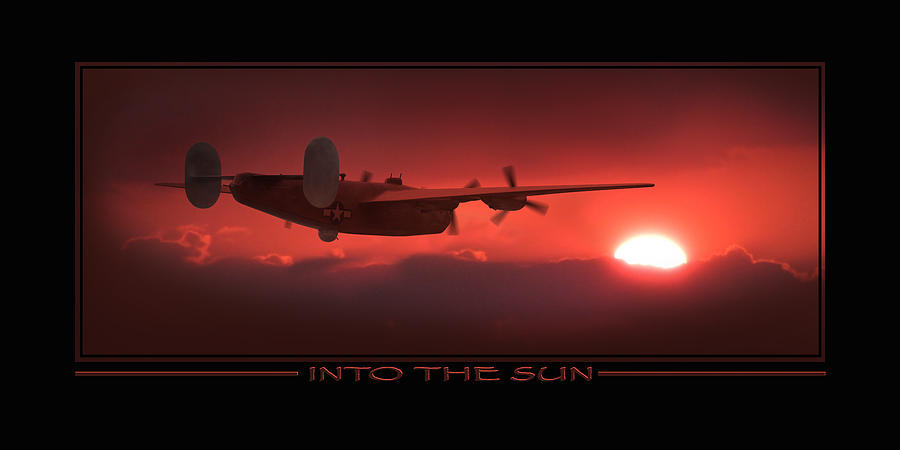 Warbirds Photograph - Into The Sun Show Print by Mike McGlothlen