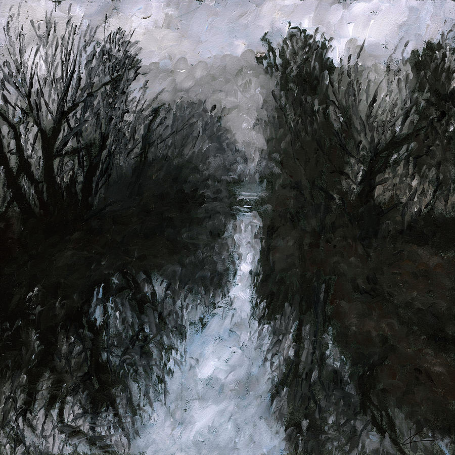Landscape Painting - Into The Void 1 by Christian Klute