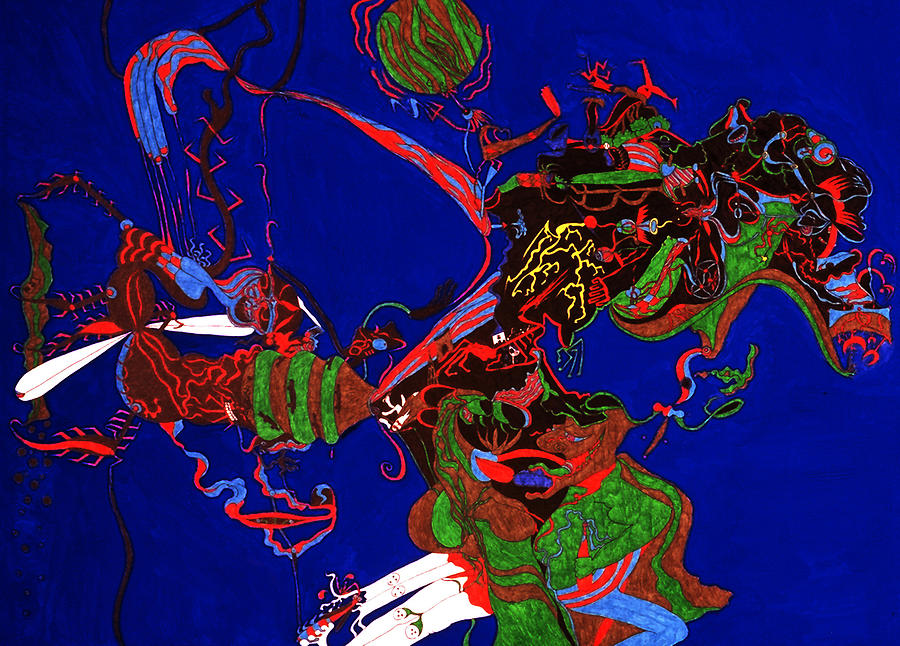 Abstract Print - Intoxication by William Watson