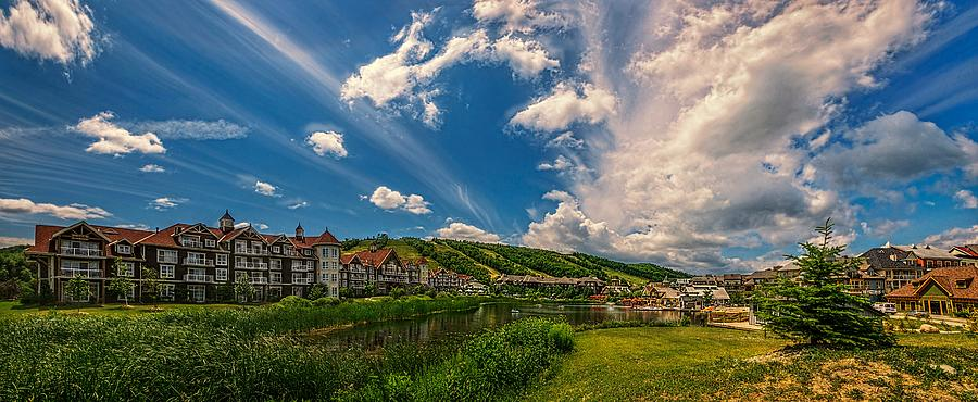Intrawest Photograph - Intrawest four season resort by Jeff S PhotoArt