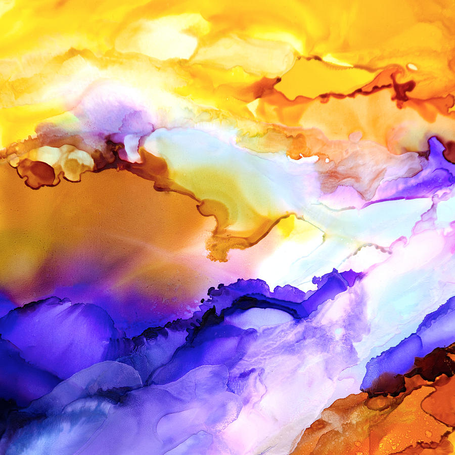 Abstract Painting - Intrepid Adventure - F - by Sandy Sandy