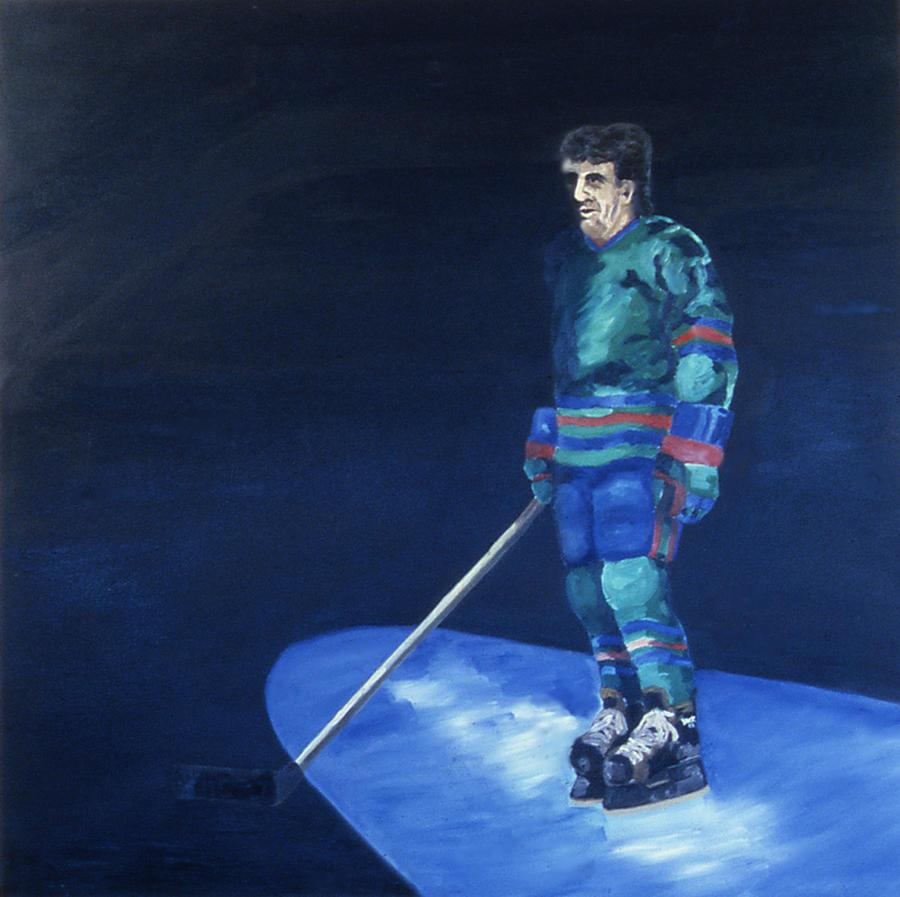 Hockey Painting - Introducing........ by Ken Yackel