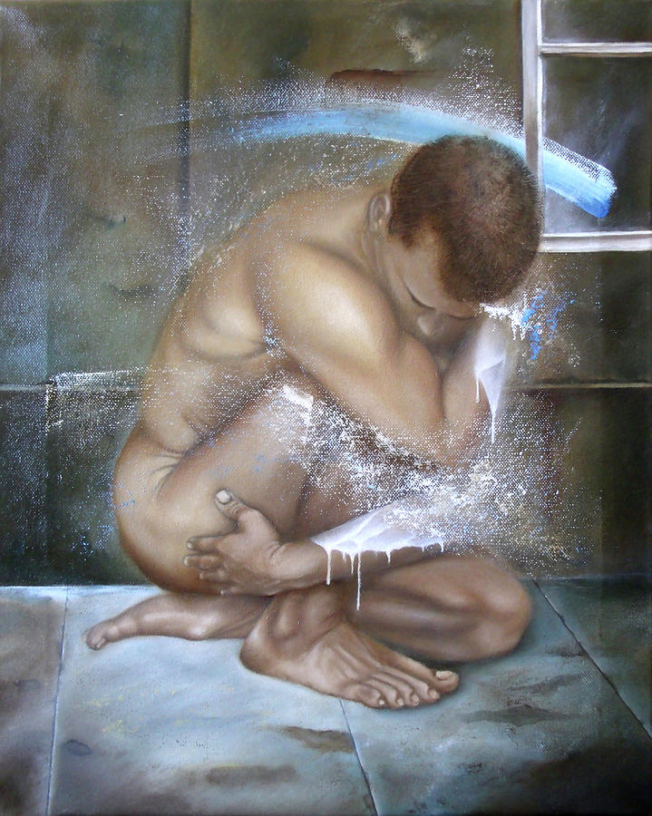 Artwork Painting - Introspection by Jorge Van de Perre
