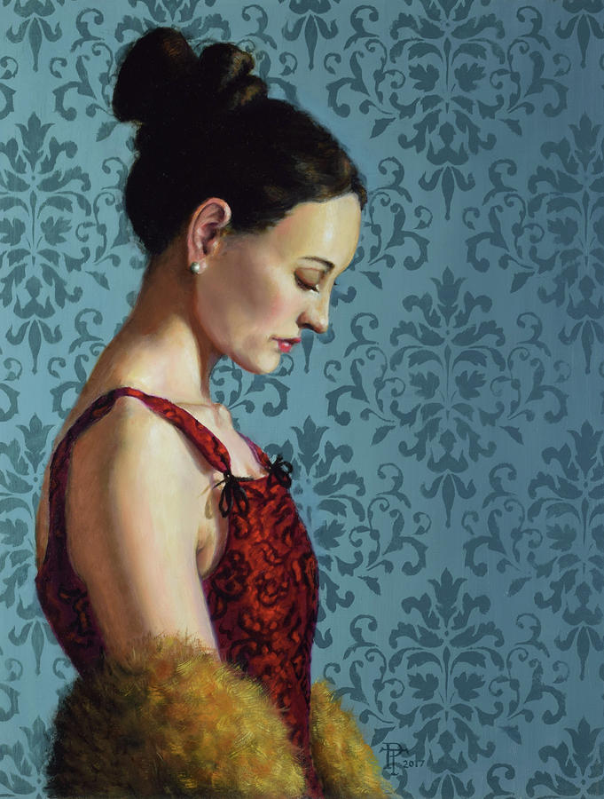Blue Painting - Introspection by Philip Taylor