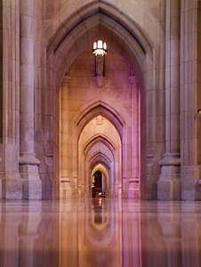National Cathedral Photograph - Introspection by Scott Mahrer