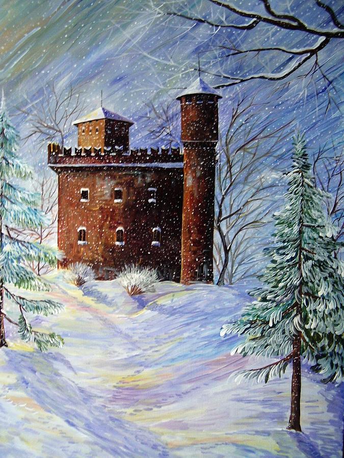 Inverno A Torino Painting by Amalia Passaro