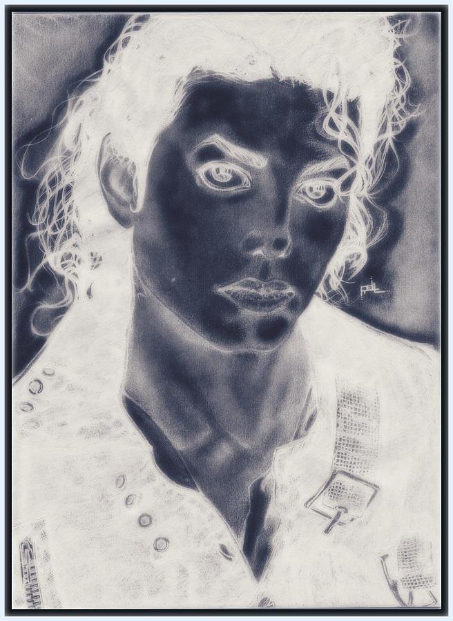 Inverted Mj Digital Art by Terrelle Jordan