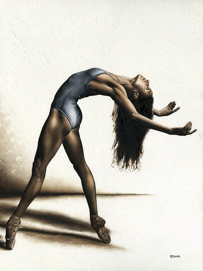 Dance Painting - Invitation to Dance by Richard Young