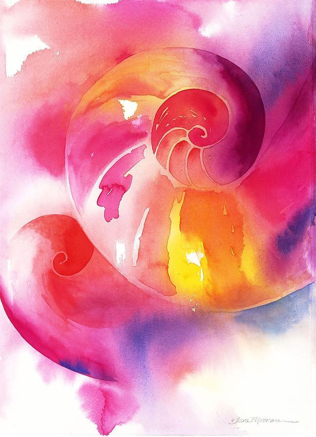 Spiritual Painting - Inward Journey by Tara Moorman