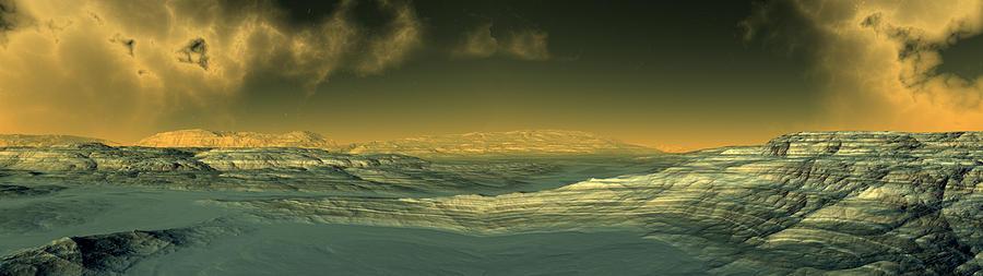 Io Digital Art by Russ Walker