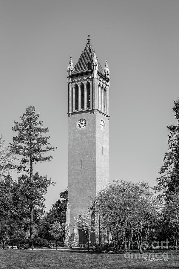 Iowa State Photograph - Iowa State University Campanile by University Icons