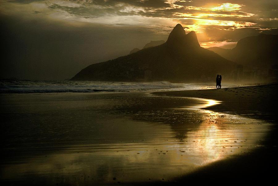 Brazil Photograph - Ipanema Com Amor by Colleen Joy
