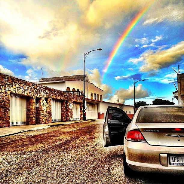 Iphone Photograph - #iphone # Rainbow by Estefania Leon