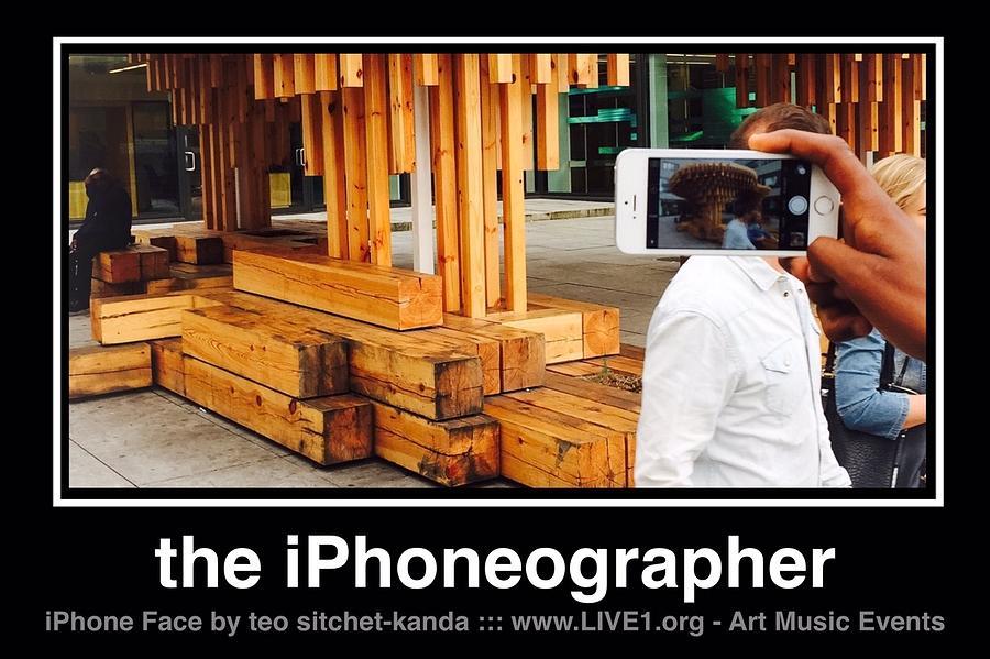 Blues Harmonica Photograph - iPhone Face by Teo SITCHET-KANDA