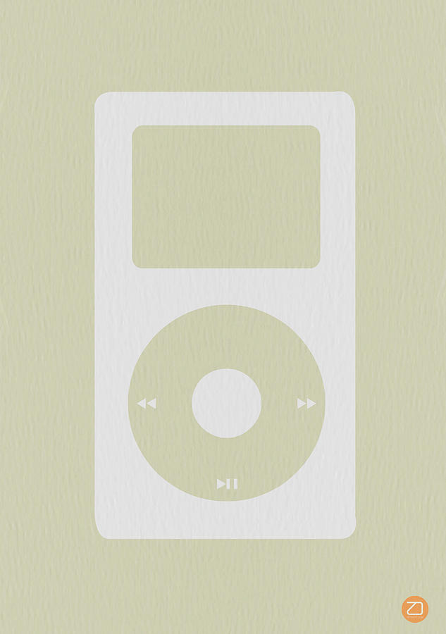 Ipod Photograph - iPod by Naxart Studio