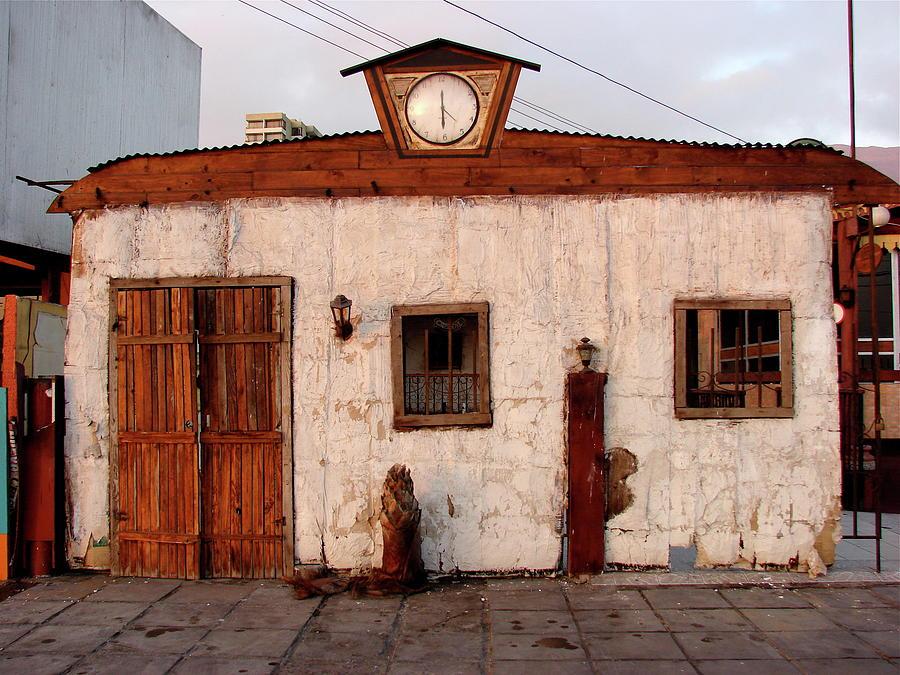 Iquique Photograph - Iquique Chile Cantina by Brett Winn