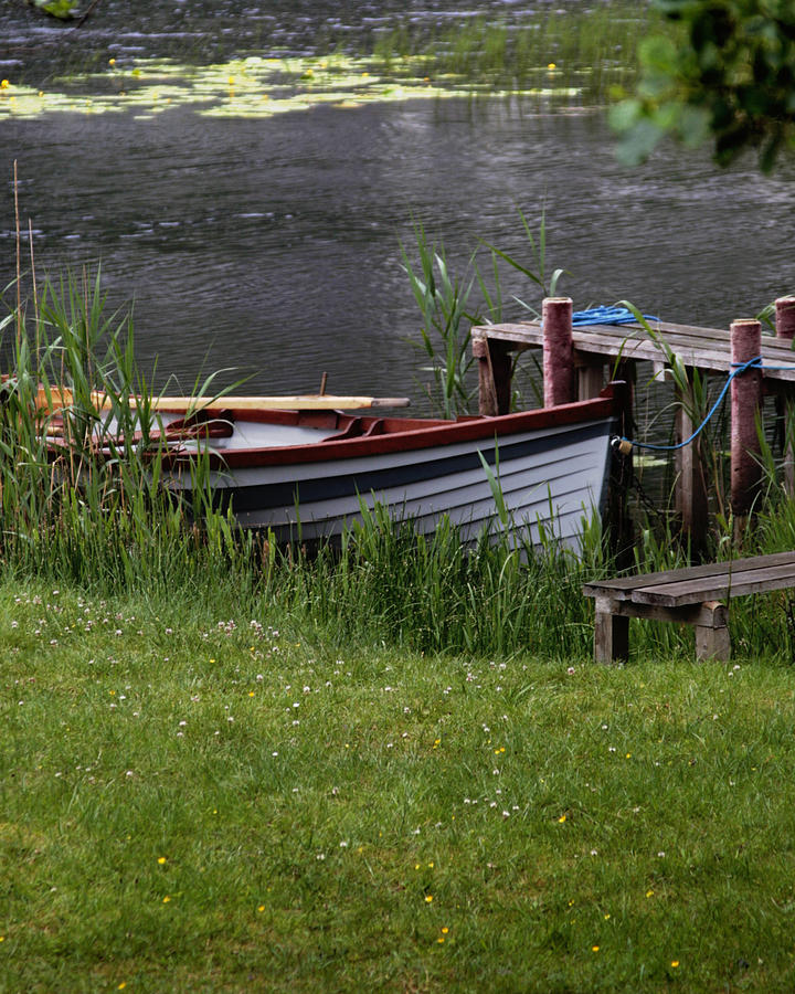Boat Photograph - Ireland Boat by Michael Carlucci
