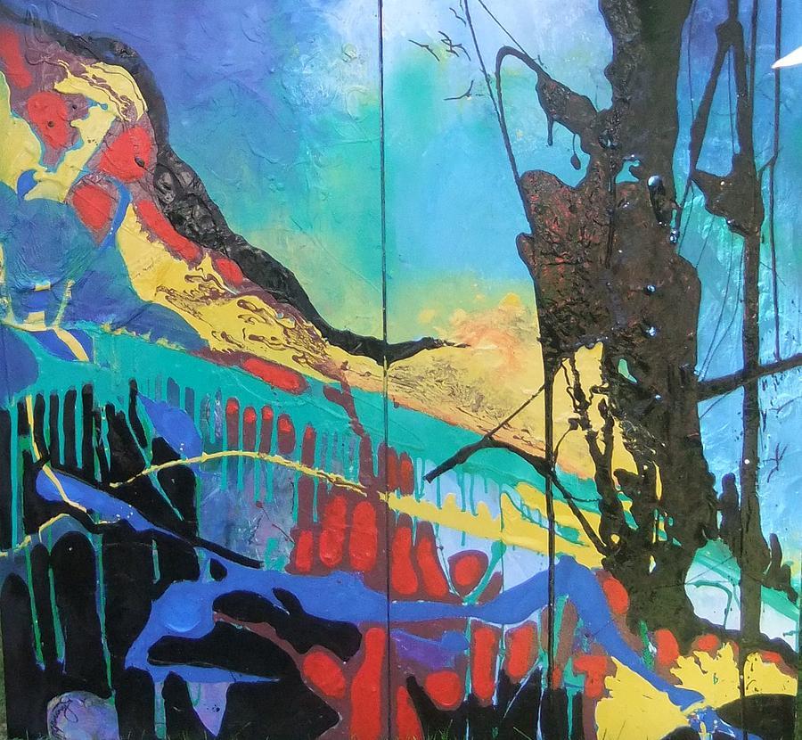 Sea Painting - Irelands Eye by Joyce Garvey