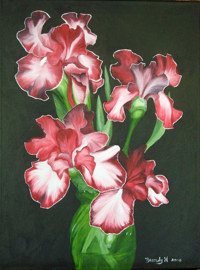 Iris Painting - Iris Breeze by Brandy House