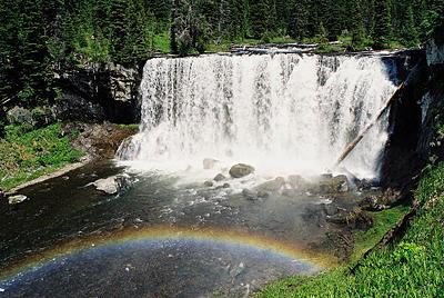 Iris Falls Photograph - Iris Falls by Gene Mace