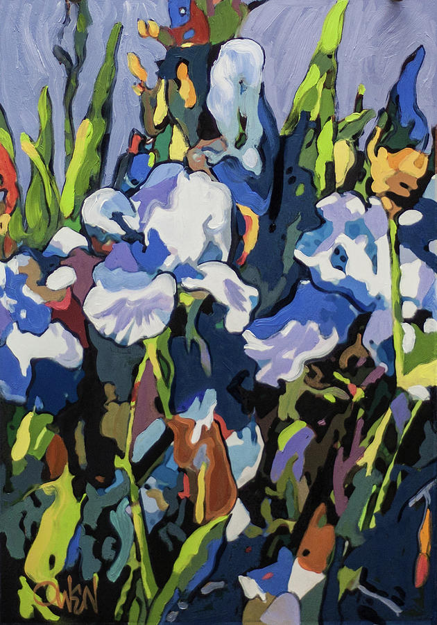 Iris, Late Afternoon by Rob Owen