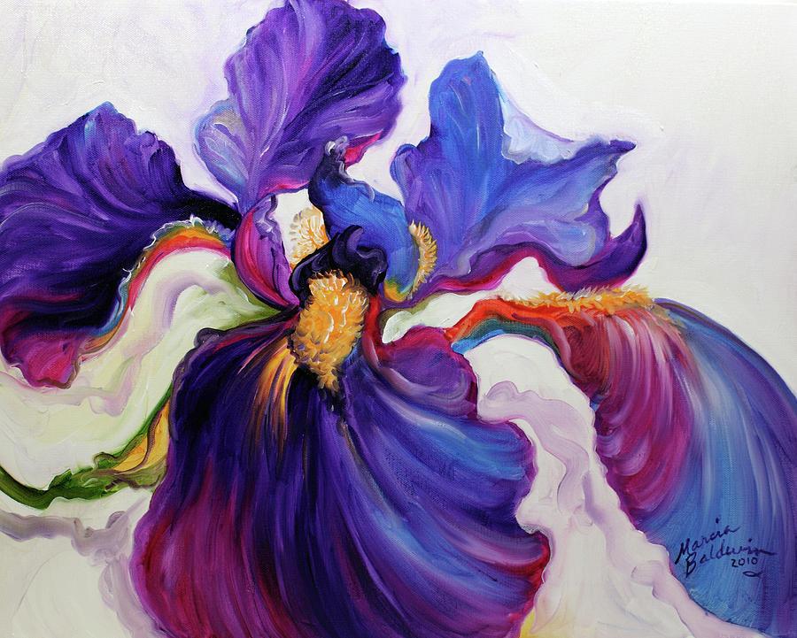 IRIS SERENITY by Marcia Baldwin