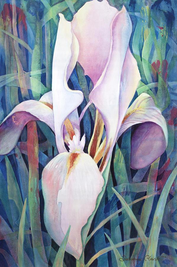 Floral Painting - Iris by Susanne Clark