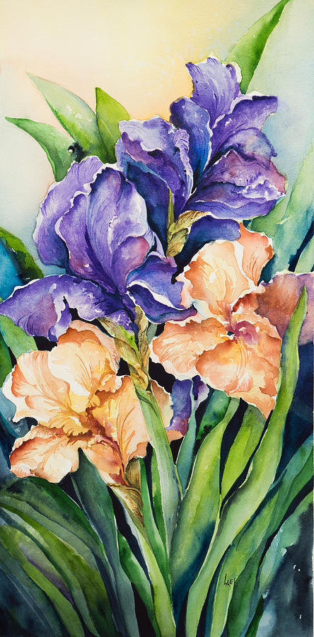 Irises by Lael Rutherford
