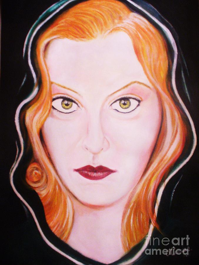 Irish Cailin  Painting by Liam O Conaire