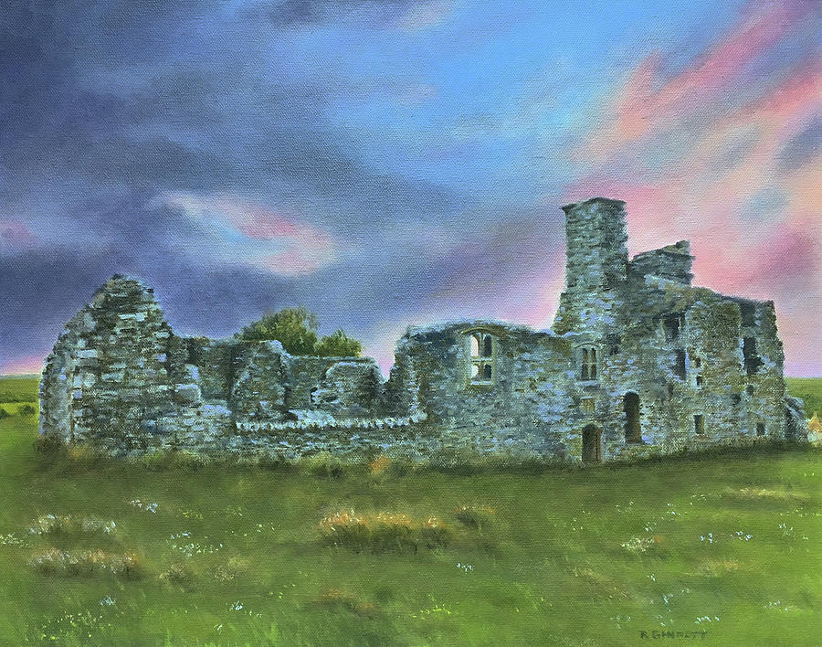 Irish Castle Ruins by Richard Ginnett