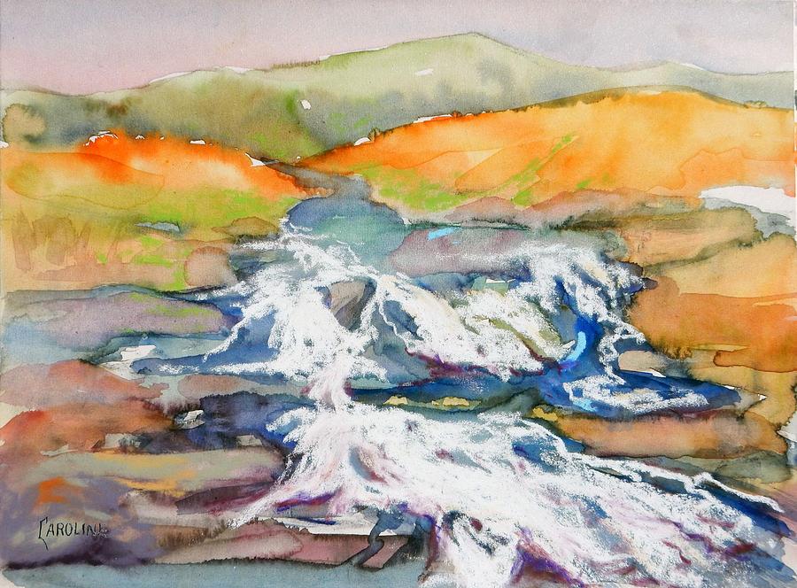 Ireland Painting - Irish Moor by Caroline Patrick