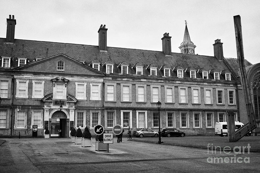 Irish Photograph - Irish Museum Of Modern Art Imma In The Former Royal Hospital Kilmainham Dublin Ireland by Joe Fox