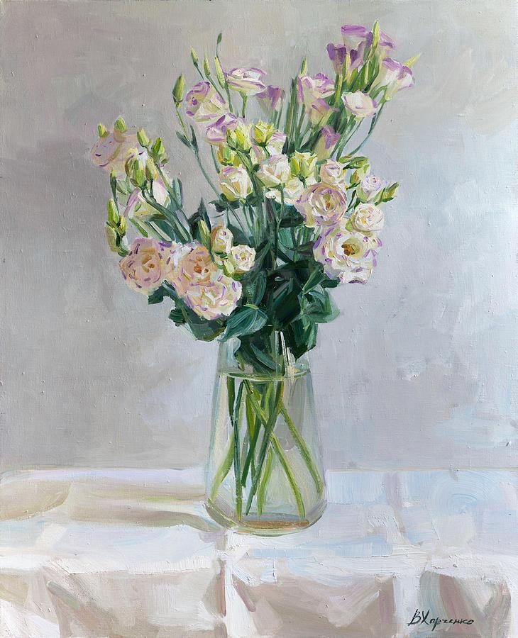 Irish Rose Painting