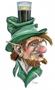 Irish Sobriety Test Drawing by Don Higgins