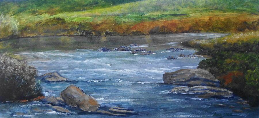 Landscape Painting - Irish Springtime by Lorna Skeie