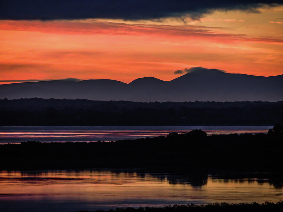 Ireland Photograph - Irish Sunrise Reflections by James Truett