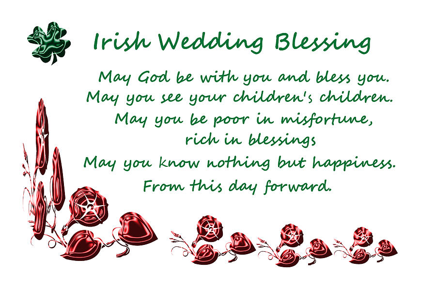 Irish Wedding Blessing Photograph by Aimee L Maher ALM GALLERY