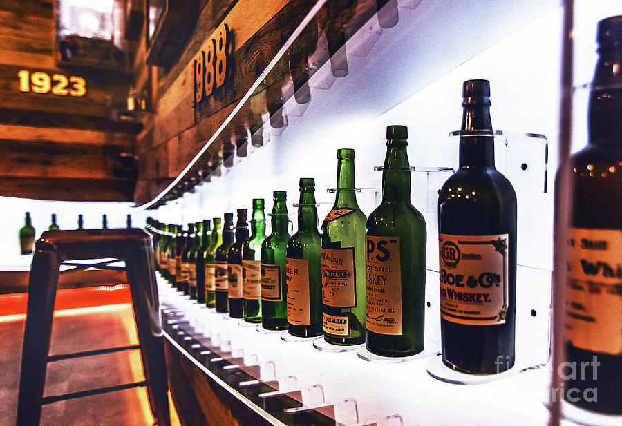 Irish Whiskey Museum Dublin 9 by Alex Art and Photo