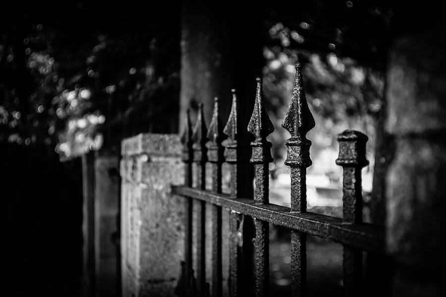 Iron Fence by GK Hebert Photography