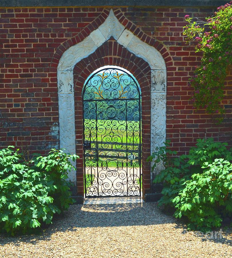 Iron Photograph - Iron Gate Door by Edna Weber  sc 1 st  Fine Art America & Iron Gate Door Photograph by Edna Weber