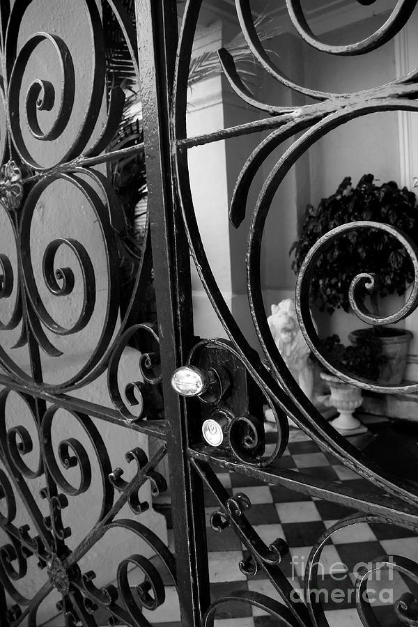 Iron Gate Photograph - Iron Gate by Wendy Mogul