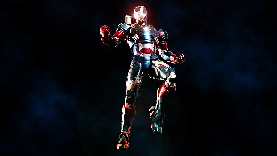 Iron Man 3 Digital Art - Iron Man 3 by Dorothy Binder