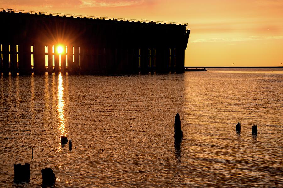 Iron Ore Dock Photograph