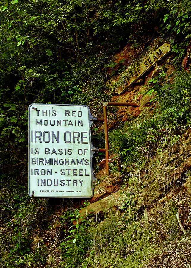 Iron Ore Seam Marker by Just Birmingham
