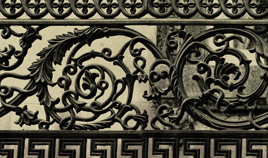 Savannah Photograph - Iron Work by JAMART Photography
