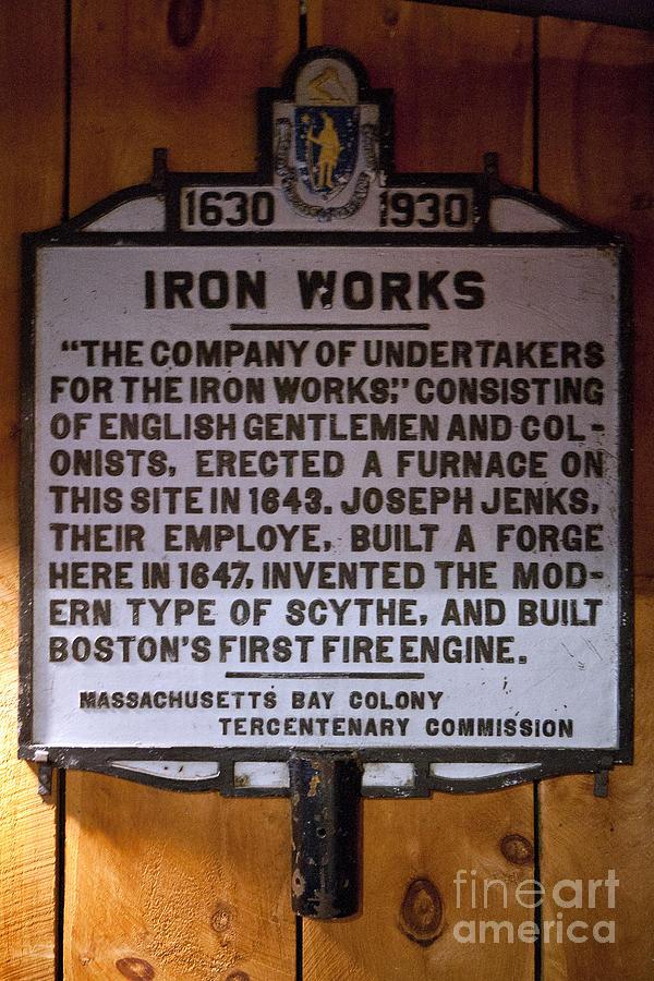 Iron Works Photograph