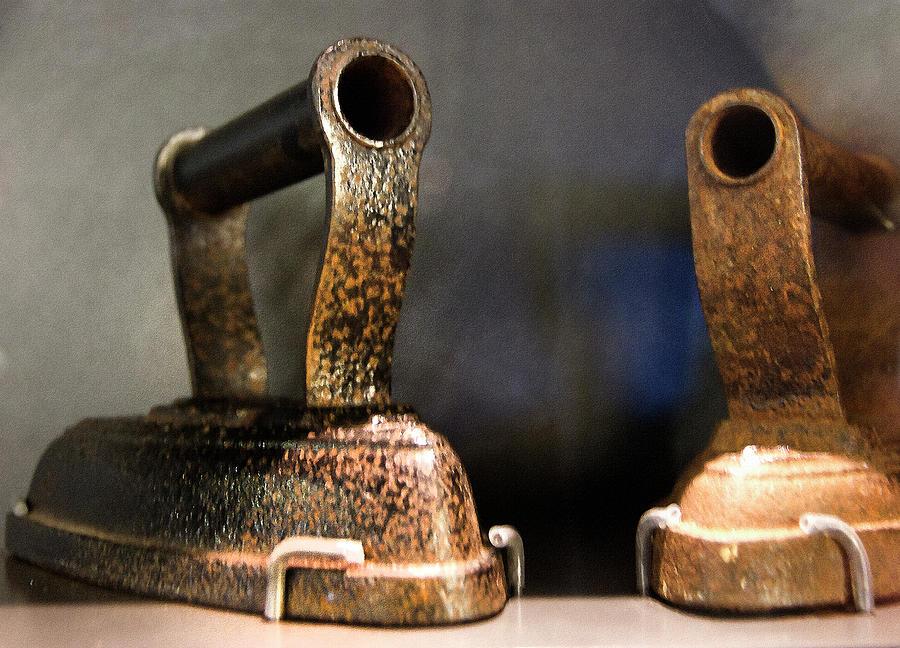 Iron Photograph - Irons From Early 1900s Australia by Miroslava Jurcik