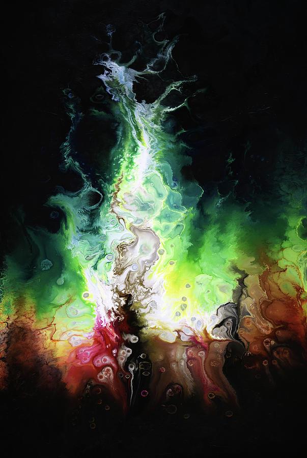 Abstract Painting - Irresistible by Dion Kurczek